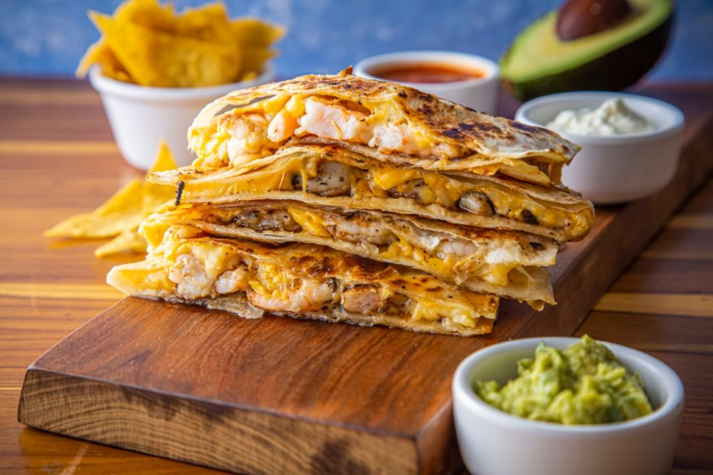 QUESADILLAS The Taco Shop - Califórnia e México em um só lugar